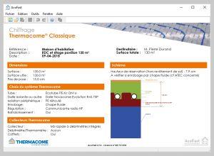Thermacome, 1er système de planchers chauffants-rafraîchissants hydrauliques basse température – Desc Acofast