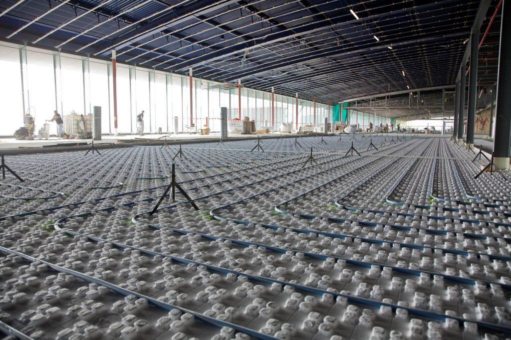 Thermacome, 1er système de planchers chauffants-rafraîchissants hydrauliques basse température – DTEK Thermacome