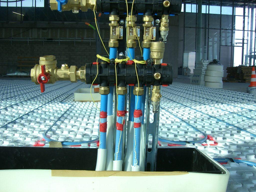 Thermacome, 1er système de planchers chauffants-rafraîchissants hydrauliques basse température – Aéroport de Roissy Charles de Gaulle