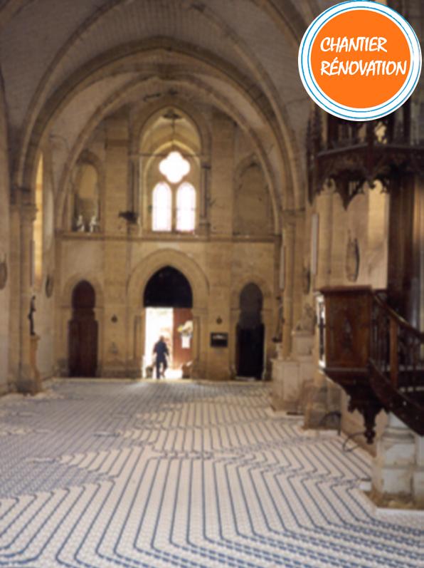 Thermacome, 1er système de planchers chauffants-rafraîchissants hydrauliques basse température – Eglise la Force