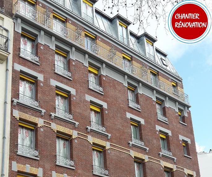 Thermacome, 1er système de planchers chauffants-rafraîchissants hydrauliques basse température – Réalisation résidence Etudiante Paris