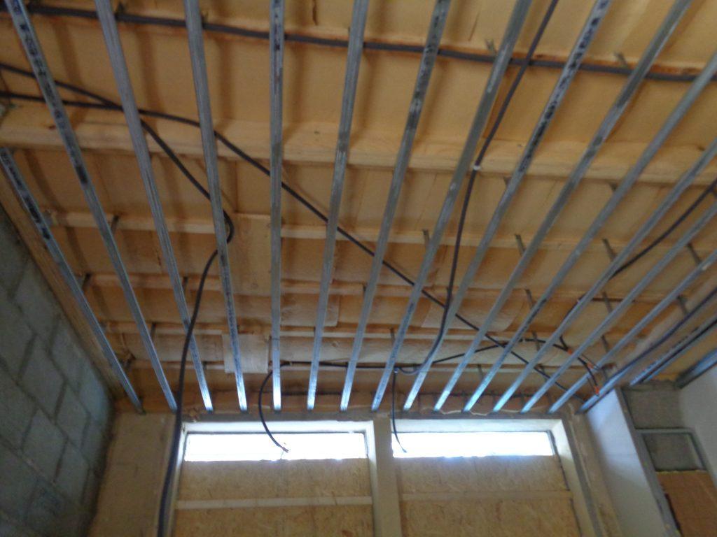 Rails du plafond chauffant ACOSI+
