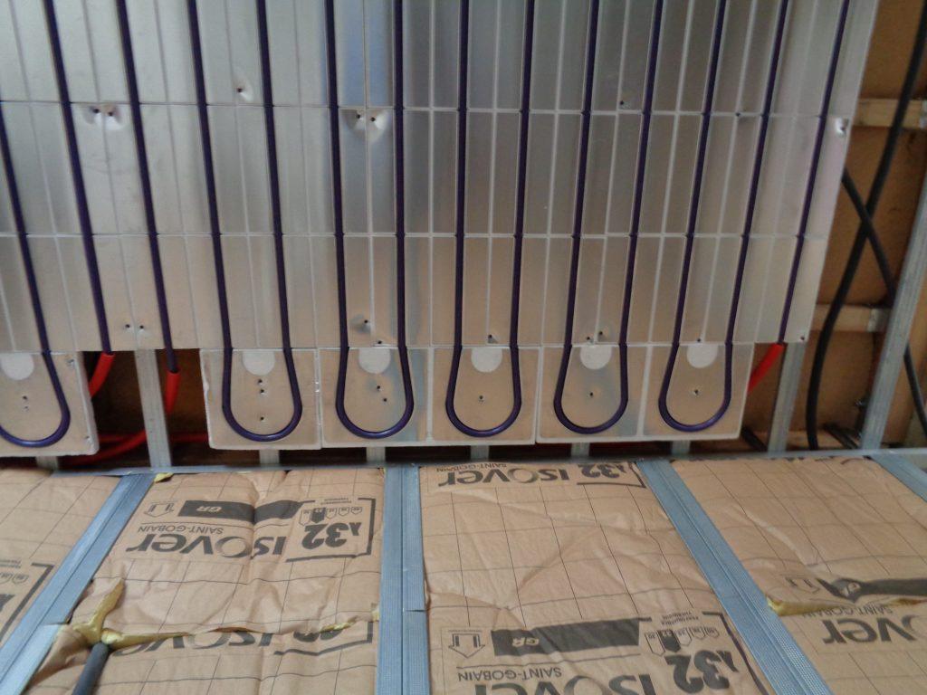 Circuits de tubes du plafond chauffant ACOSI+