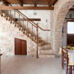 la fraîcheur d'une maison en pierre
