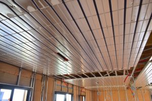 chaleur douce et rafraîchissement efficace du plafond acosi+fraîchissant