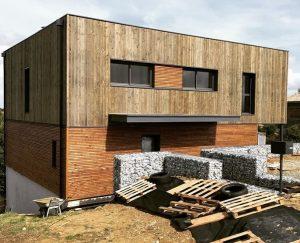 la maison d'architecte en plafond chauffant