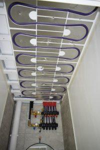collecteur de plafond climatique
