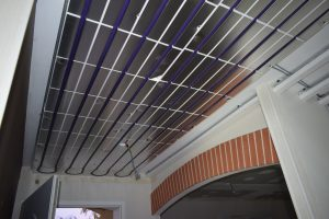 les circuits de chauffage de plafond chauffant