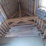 plafond chauffant en rénovation. rampants